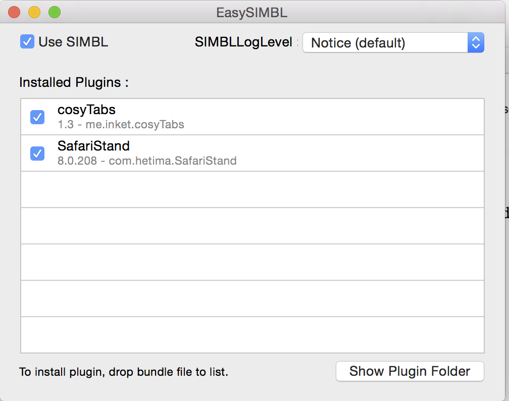 SIMBL-CosyTabs Bundle-SafariFix