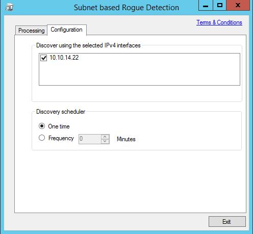 Rouge Checker - Configuration Screen