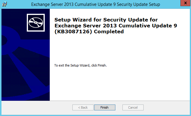 Security-Update-For-Exchange-2013-CU9-KB3087126-Installation17