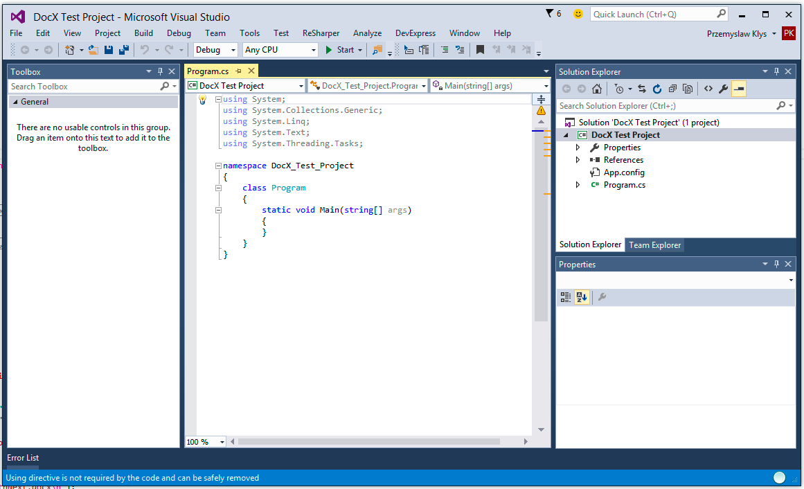 DocX-VisualStudio-HelloWorld-Example4