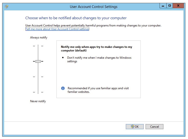 How to permanently disable UAC in Windows Server - Evotec
