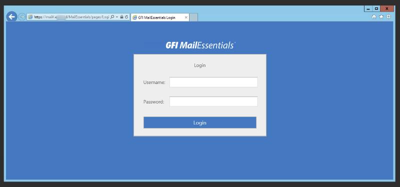 GFI Mail Essentials