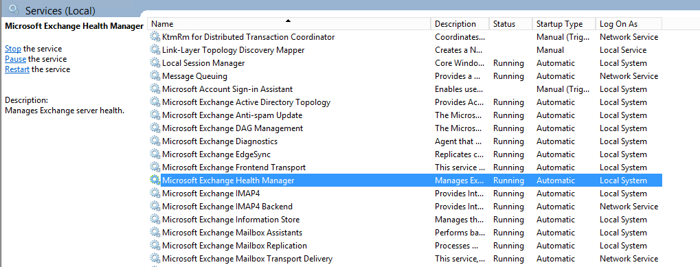 Exchange 2013 - Health Mailbox has been corrupted - Evotec