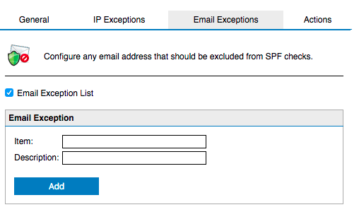 Does GFI Mail Essentials 20 1 support full SPF specification