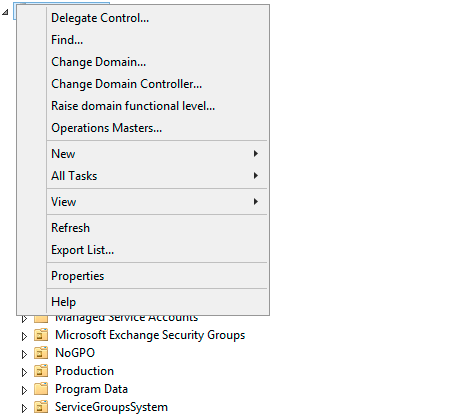 Delegating Active Directory attribute physicalDeliveryOfficeName