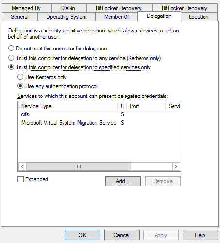 Hyper-V - There was an error during move operation - Evotec