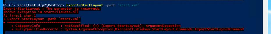 Prepare Windows 10 Start Menu for all computers in Active
