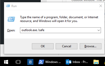 Microsoft Outlook - Cannot start Microsoft Outlook  Cannot open the