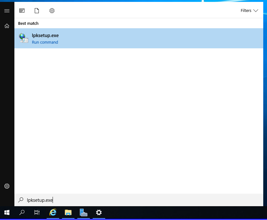 Windows 2019 - How to add language pack? - Evotec