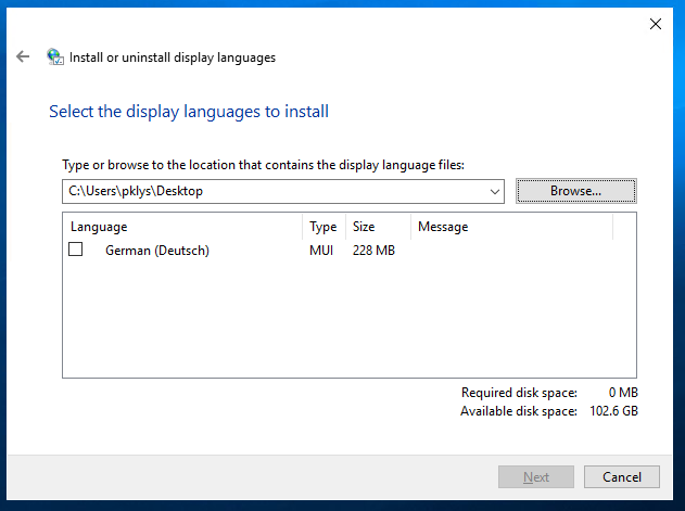Windows 2019 - How to add language pack? - Evotec