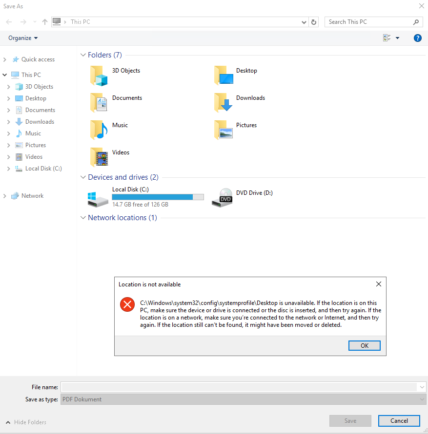 Windows Server 2019 - Desktop path for all users redirected