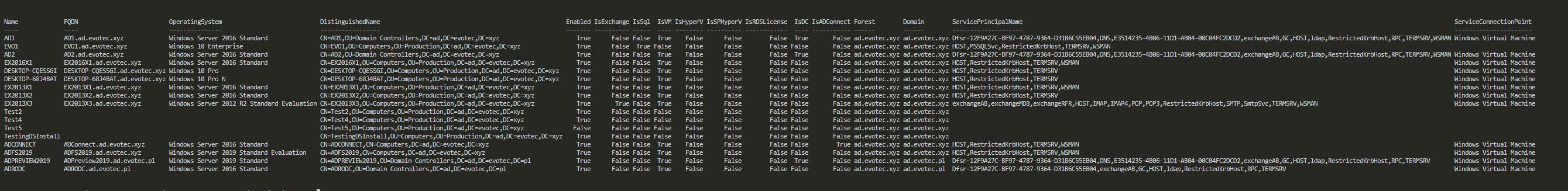 Find-ServerTypes