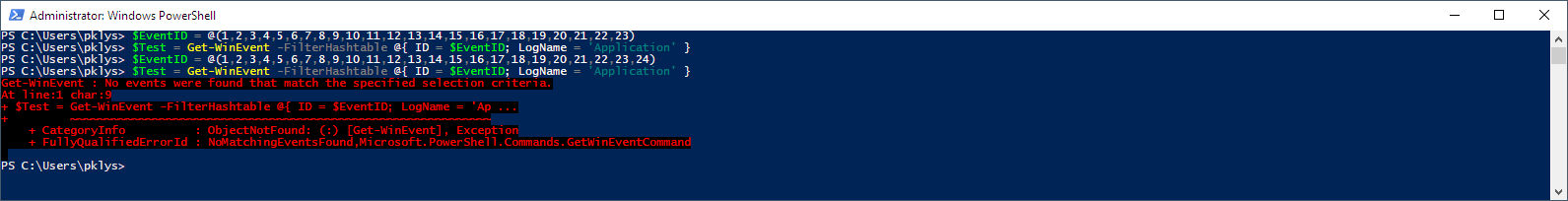 PowerShell - Everything you wanted to know about Event Logs